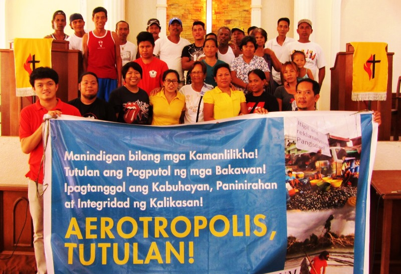 No to SMC aerotropolis reclamation
