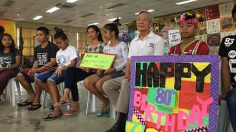 Lumad kids throw birthday bash for Ka Satur