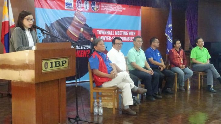 PH justice system 'broken but mendable,' lawyer-senatorial aspirants say