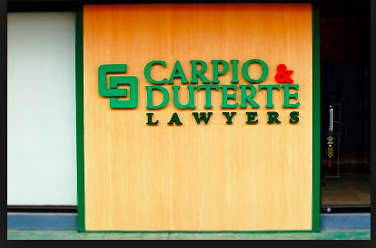 Image result for duterte carpio law office