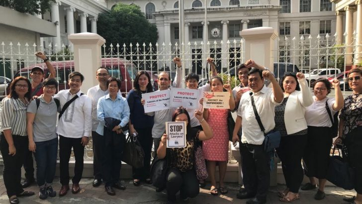 Lawyers' group vows to file charges against rights violators