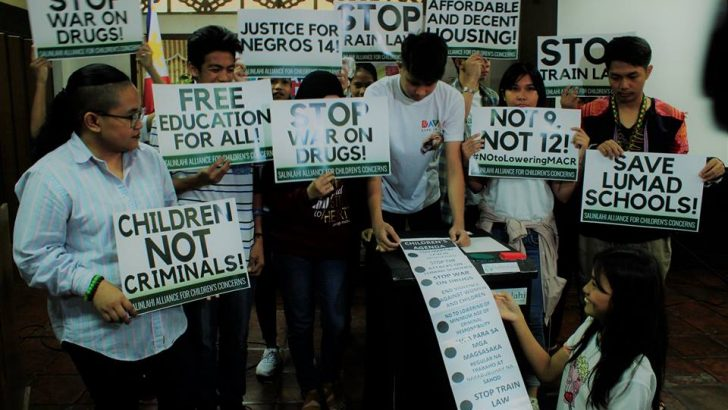 Children rights groups urge electoral candidates to address Filipino children's needs