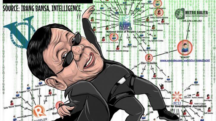 'Malacañang's fake matrix a dodgy smokescreen for Duterte regime's many sins' – NUPL