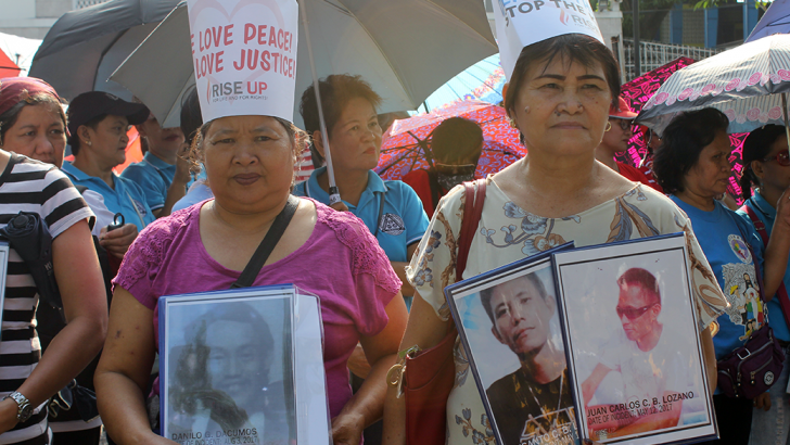 Drawing strength from one another | Mothers vow to continue fight for justice