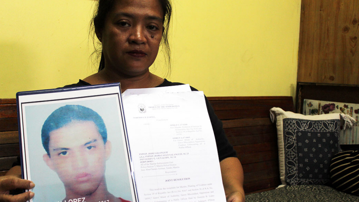 'There is hope' | Mother of victim of anti-illegal drug ops welcomes dismissal of cop from service