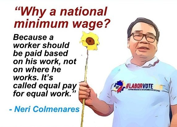 Workers show all-out support for Senatorial candidate Neri Colmenares, Labor win