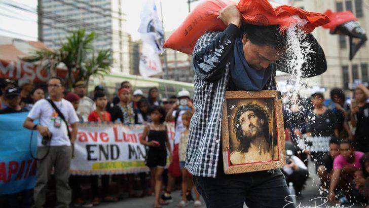 'Kalbaryo ng Mamamayan' exposes plight of Filipino people