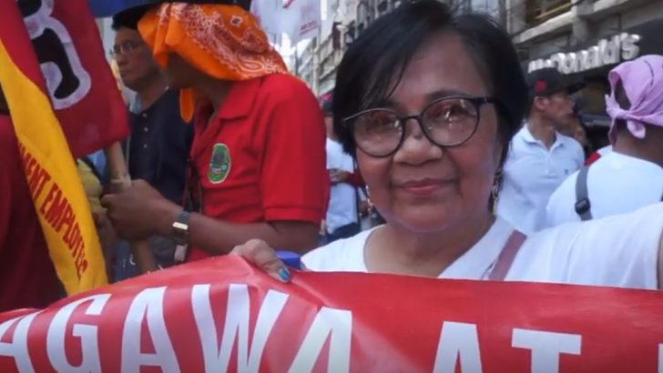 A slice of life of Filipino women workers