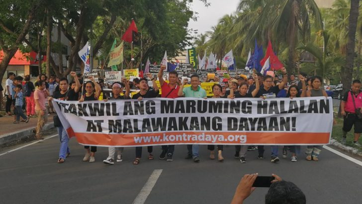 #LabanBayan | Groups protest against 'rigged election'