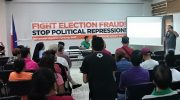 Move on? Move forward instead for clean elections, watchdogs say