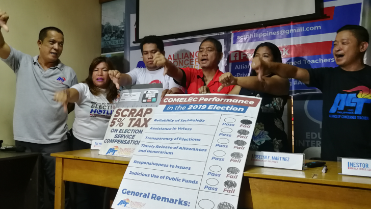 Teachers bear the brunt of Comelec's inefficiency on election day