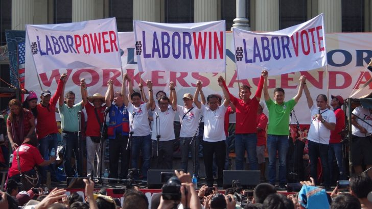 Labor groups endorse 'pro-labor candidates'
