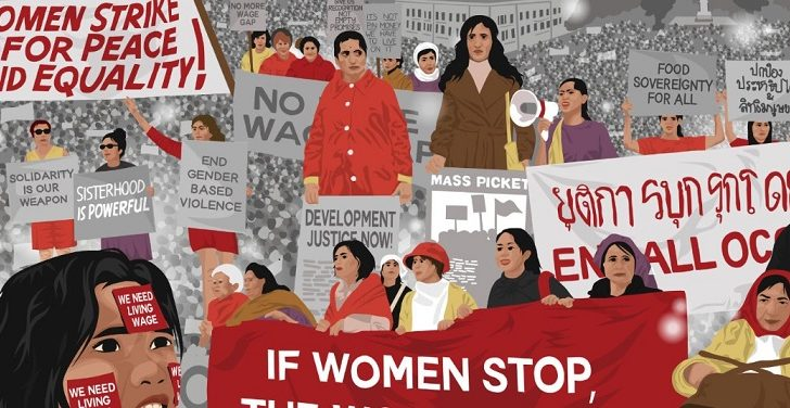 Groups call for a women's strike
