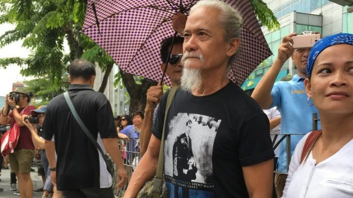 Actor Pen Medina calls for unity amid US, China intervention