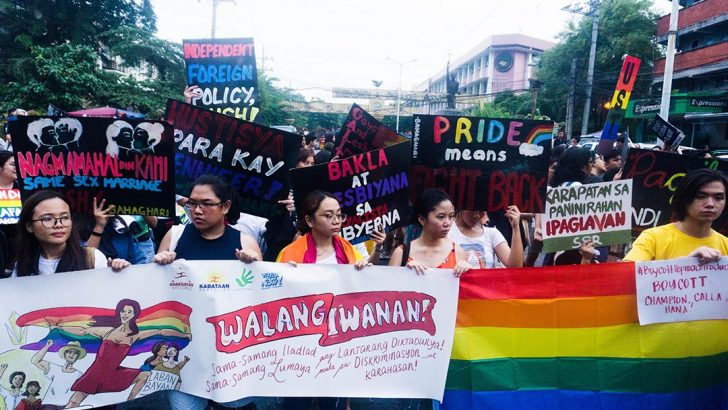 Groups condemn discrimination vs. transgender, push for passage of SOGIE bill