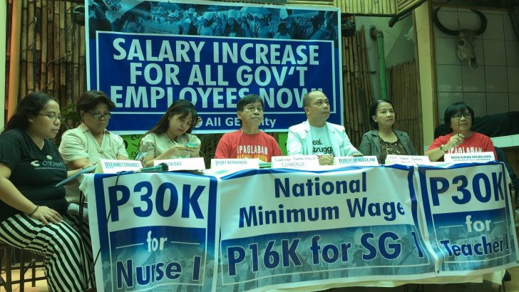 Gov't workers decry 'favoritism' as Duterte fails to provide due wage increase, social services