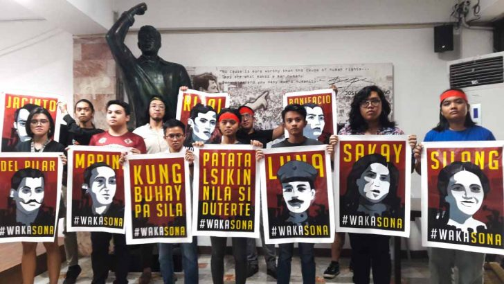 Youth groups to join United People's SONA