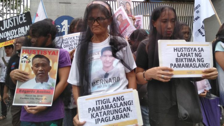 Kin of victims of extrajudicial killings fight for justice