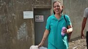 Miradel walks free, unites with son she gave birth to under detention