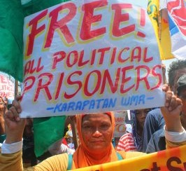 2 political prisoners in Samar released