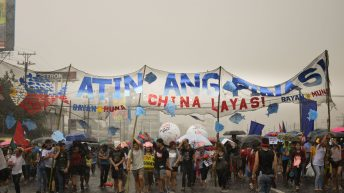 Tens of thousands brave the rain, threats from gov't, to protest state of the nation