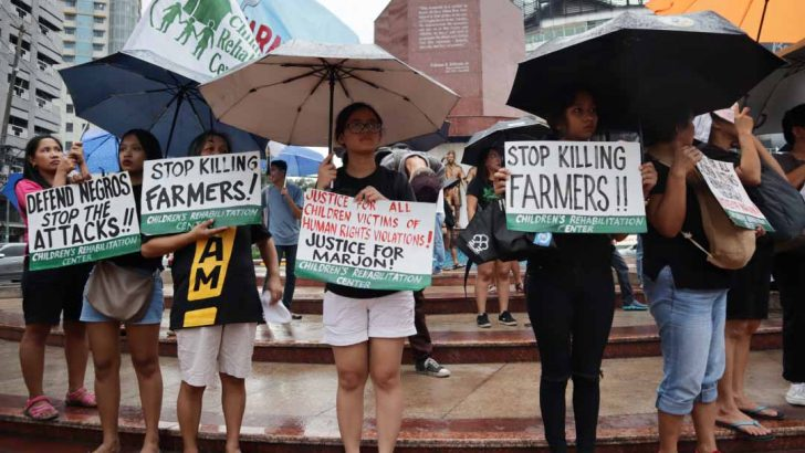 Negros killings, 'a war against unarmed civilians' — groups
