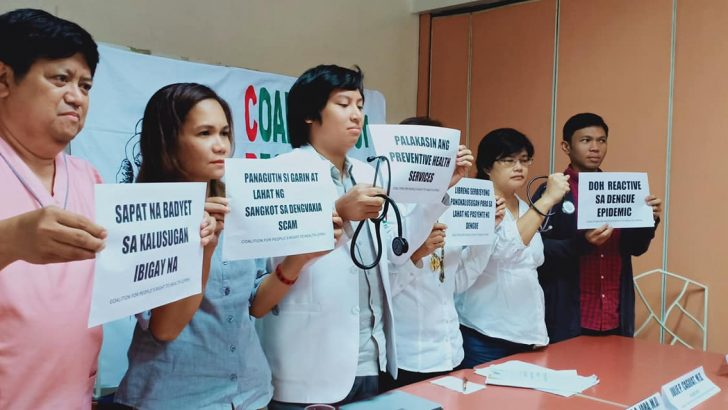 Dengvaxia will not eradicate dengue outbreak – health advocates