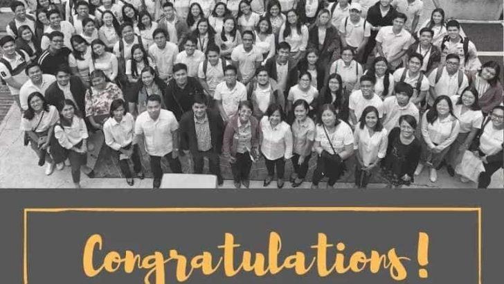 Mensahe sa mga bagong graduate ng NSTP
