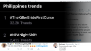 #NPANightShift | Netizens scorn Bato, 'former  rebel' claims