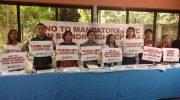 Youth, teachers, child rights advocates unite against mandatory military training