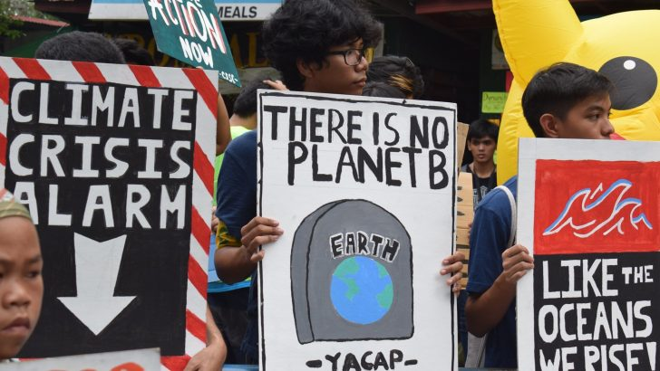 Filipino youth join Global Climate Strike