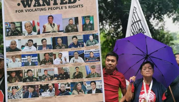 Rights defenders decry red tagging as form of rights violation