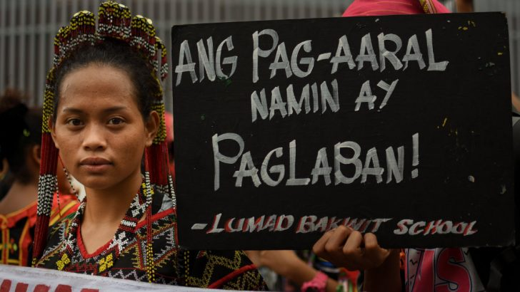 For land and for the future, the Lumad 'bakwit' school's fight continues