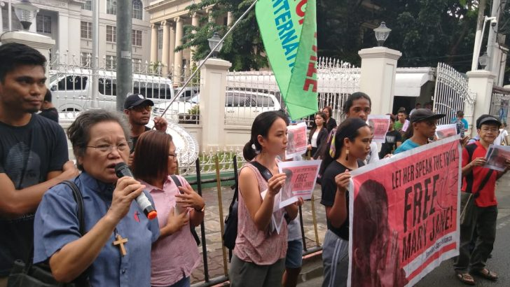 'Let Mary Jane speak' | Support outpours for Veloso as last hearing nears