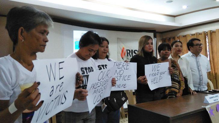 Kin of drug-related killings file more evidence vs Duterte before ICC