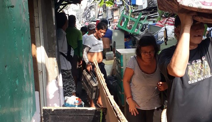 On World Homeless Day,  urban poor in Pasay lose homes to demolition