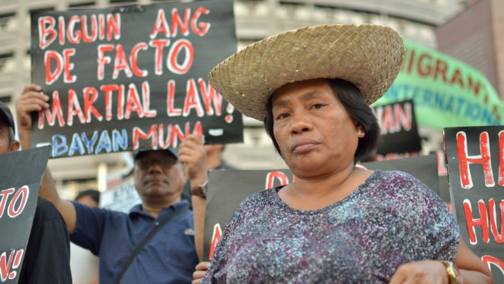 De facto martial law terrorizes civilians in Negros, Bicol, Eastern Visayas