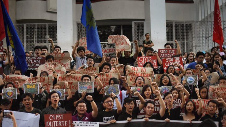 UP condemns crackdown on government critics