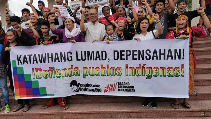 Filipino progressives support Bolivia's Evo Morales