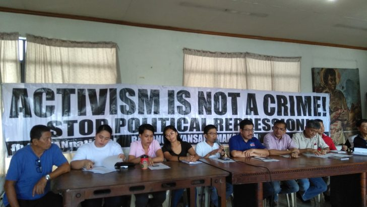 Public urged to resist Duterte's crackdown against opposition