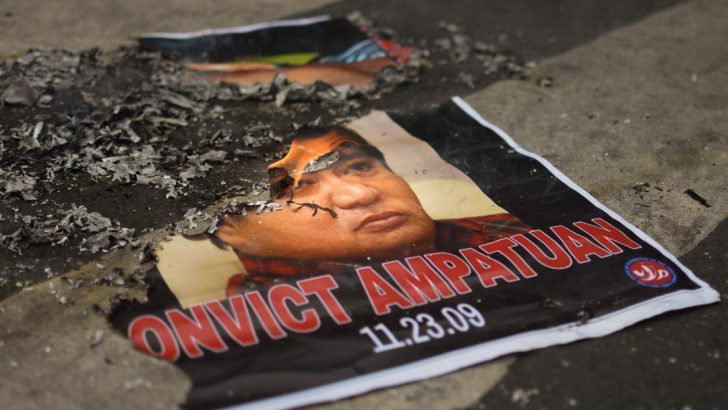 Court finds Andal Ampatuan et al. guilty