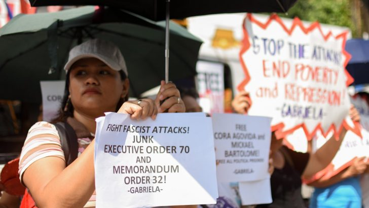Groups call for release of minors arrested by military in Negros Oriental