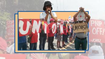 Trade union activists condemn dispersals, crackdown