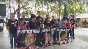 Children of Ampatuan massacre victims sing for justice