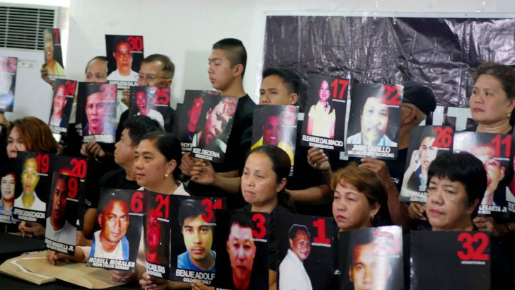 Families of victims welcome conviction of Ampatuans