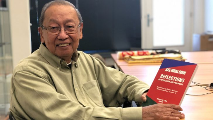 Foreword to Jose Maria Sison's Reflections (2019)