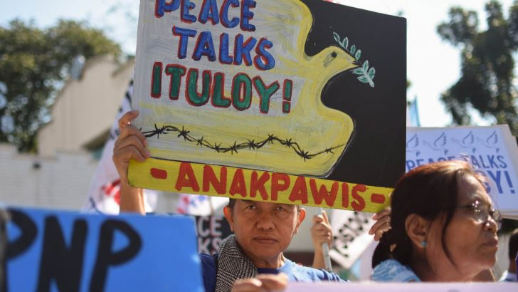 Duterte, not the Reds, obstacle to peace