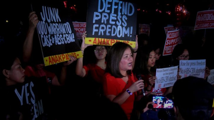 'Gag order plea vs ABS-CBN, silencing of all critical voices' — groups