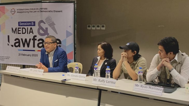 Forum tackles how law is being used as a weapon against the media