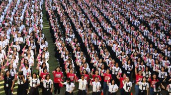 Students join global campaign to end violence against women, children